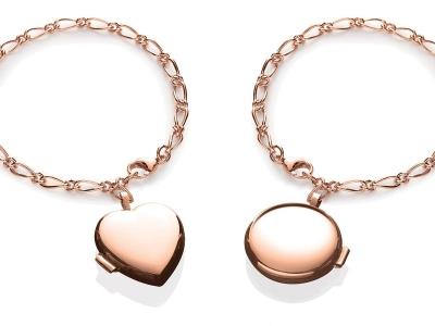 Rose Lcoket Bracelet