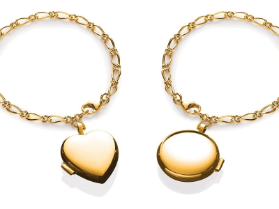 Yellow Locket Bracelet